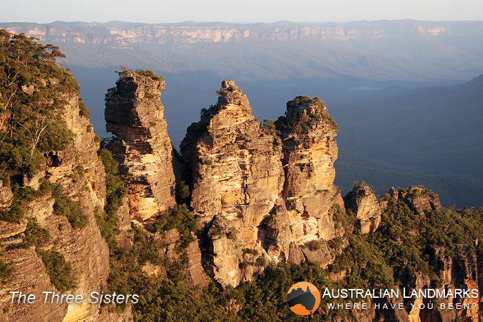 The Three Sisters -  Australian Landmarks