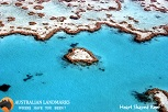 Heart Shaped Reef  - Australian Landmarks - S
